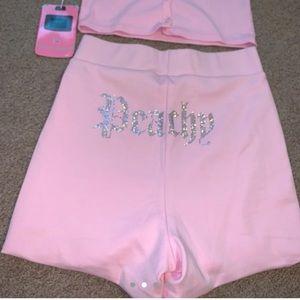Meshki Shorts - ❌sold❌Meshki Molly Peachy shorts